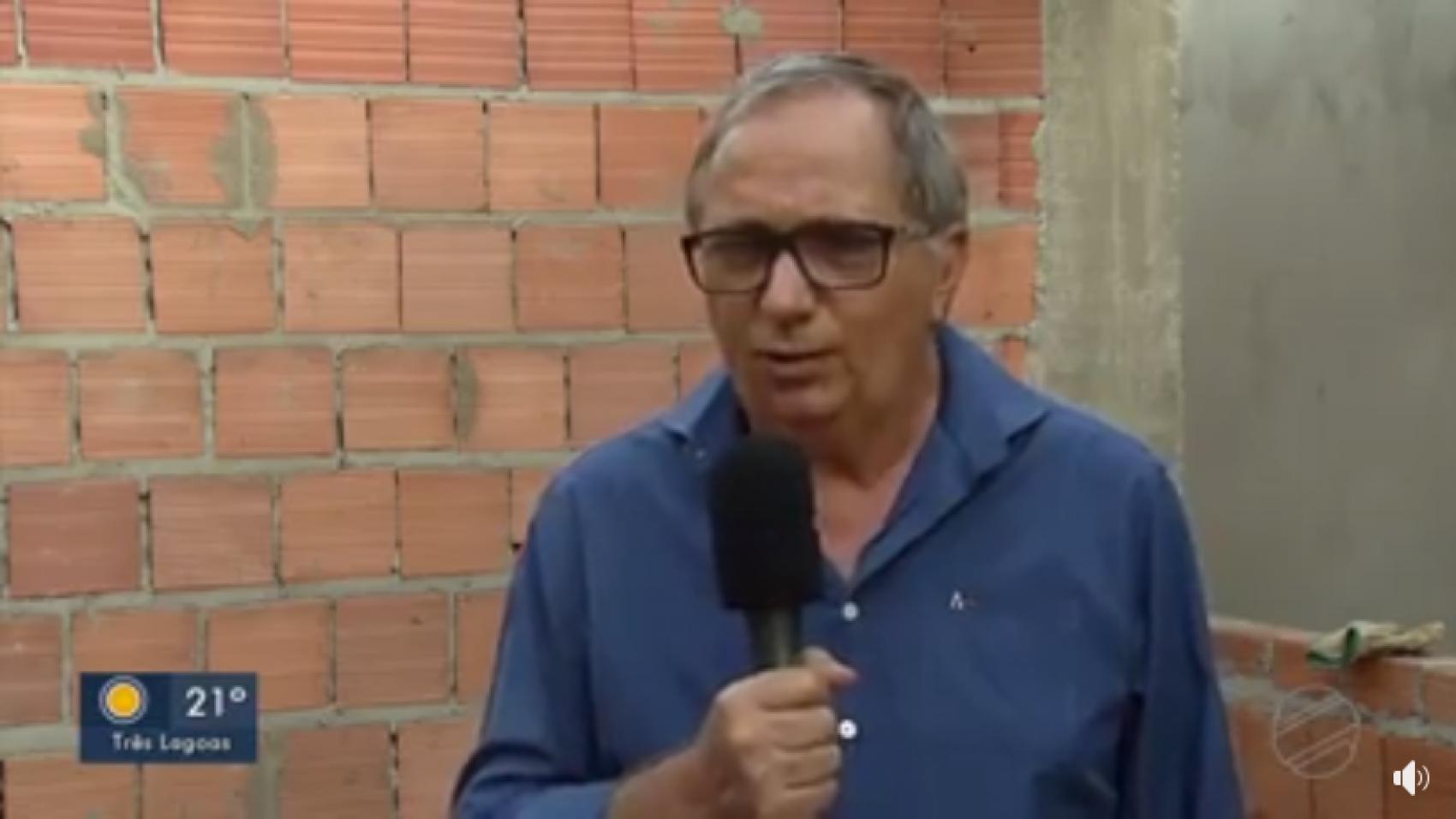 Presidente da Acomasul fala em entrevista na TV Morena sobre os impactos da pandemia de Coronavirus para o setor da Construção Civil.
